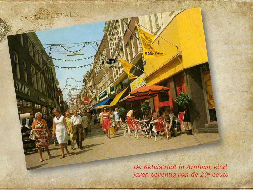 De Ketelstraat in Arnhem, eind jaren zeventig van de 20 e eeuw