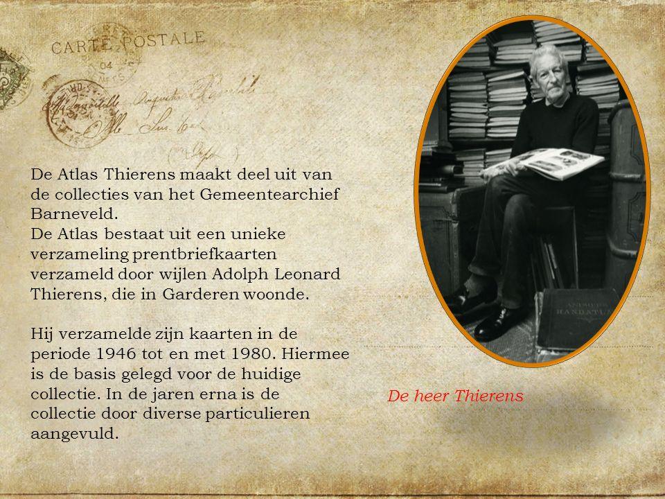 De Atlas Thierens maakt deel uit van de collecties van het Gemeentearchief Barneveld.
