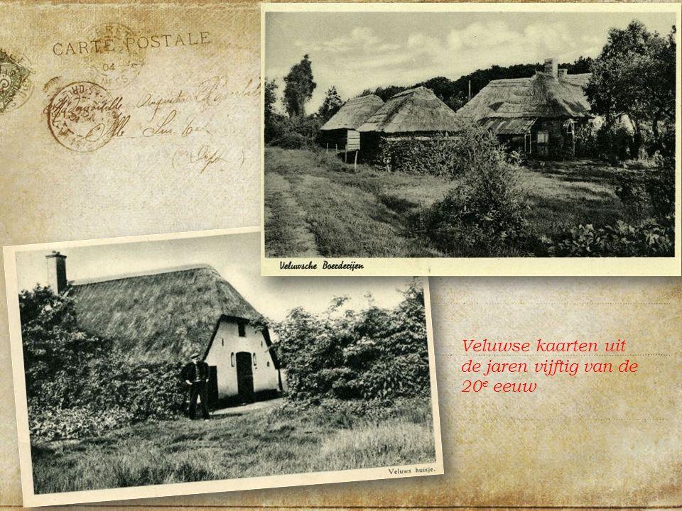 Veluwse kaarten uit de jaren vijftig van de 20 e eeuw