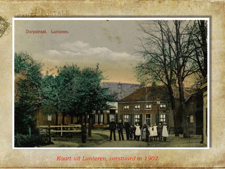 Kaart uit Lunteren, verstuurd in 1907
