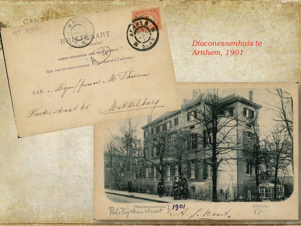 Diaconessenhuis te Arnhem, 1901
