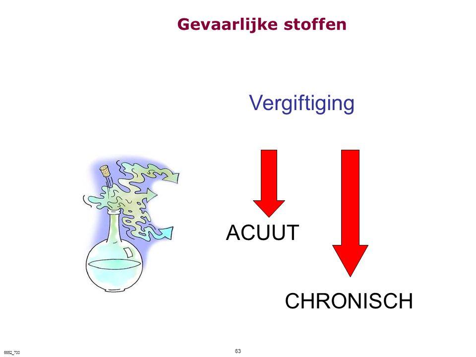 63 6652_700 Vergiftiging ACUUT CHRONISCH Gevaarlijke stoffen