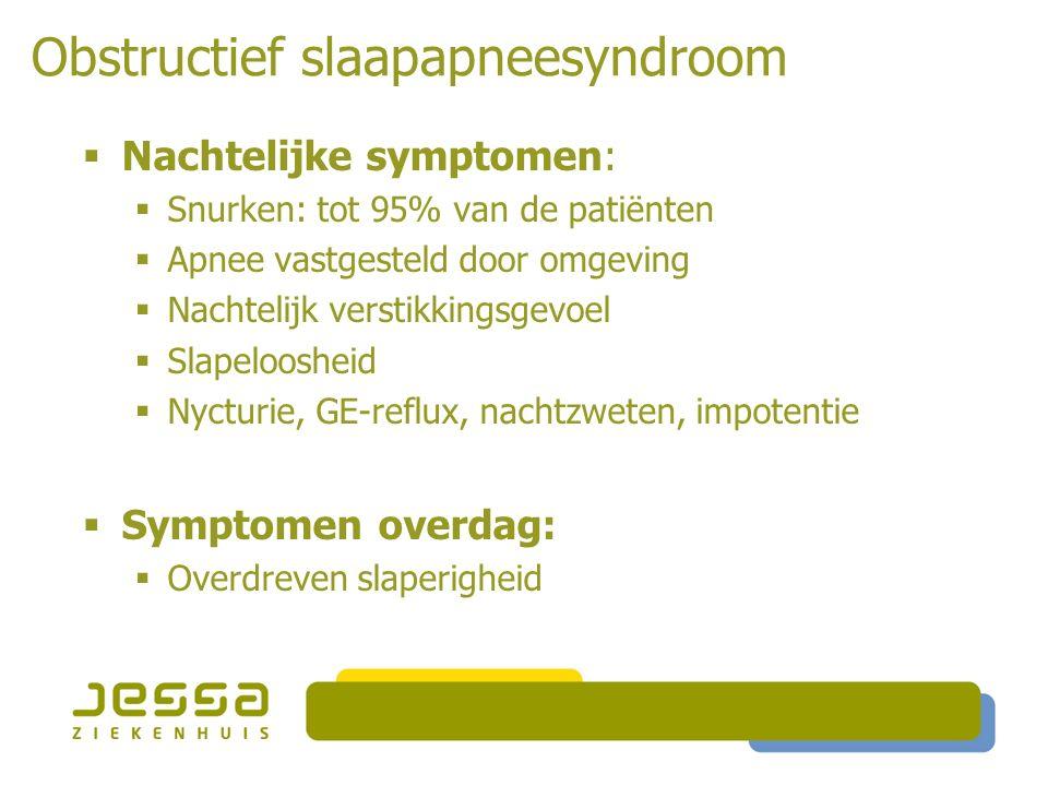 Obstructief slaapapneesyndroom