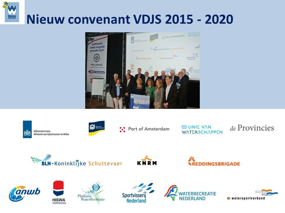 Nieuw convenant VDJS 2015 - 2020