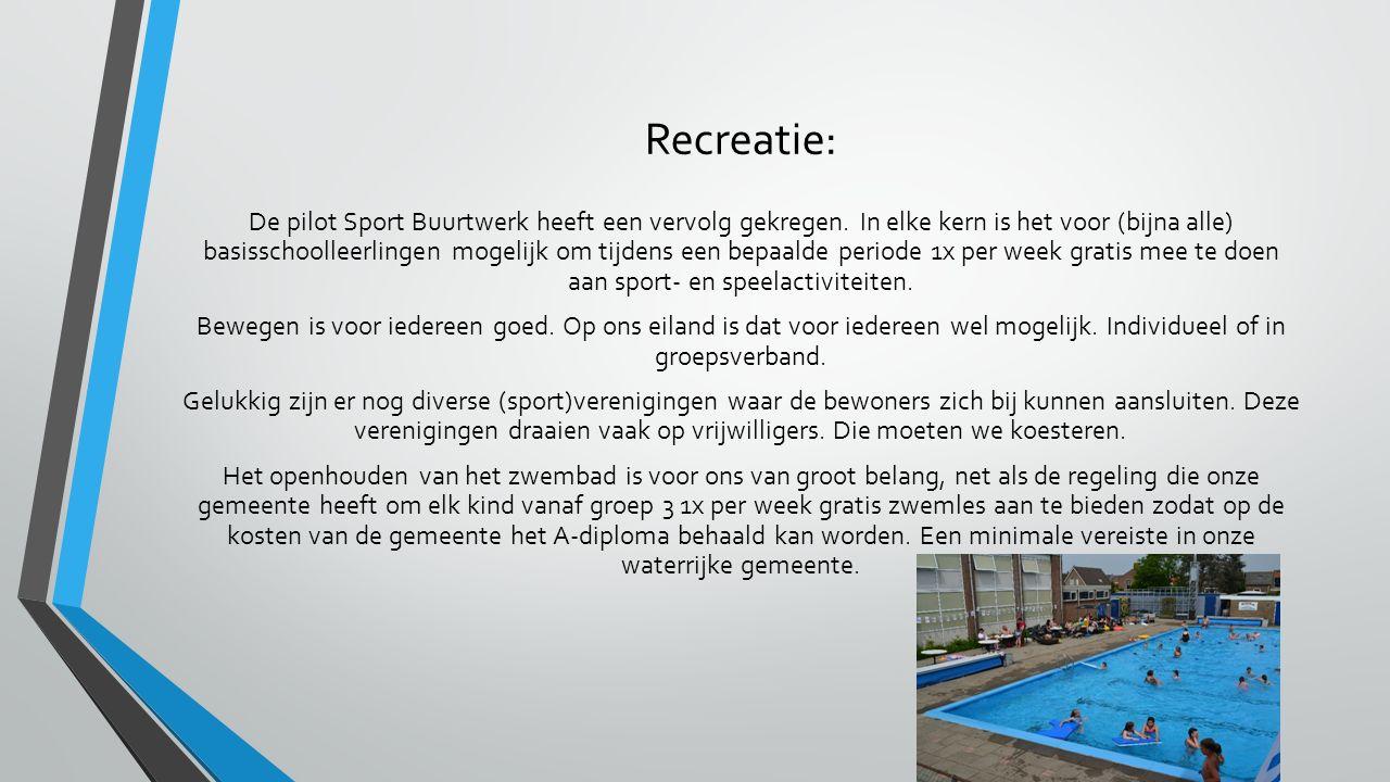 Recreatie: De pilot Sport Buurtwerk heeft een vervolg gekregen.