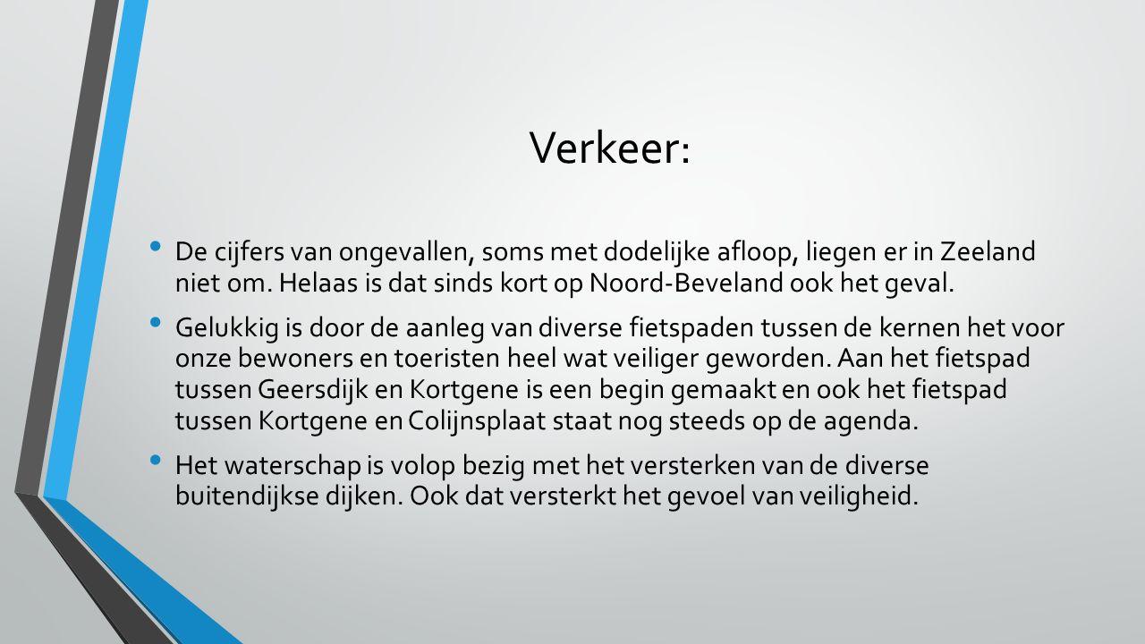 Verkeer: De cijfers van ongevallen, soms met dodelijke afloop, liegen er in Zeeland niet om. Helaas is dat sinds kort op Noord-Beveland ook het geval.