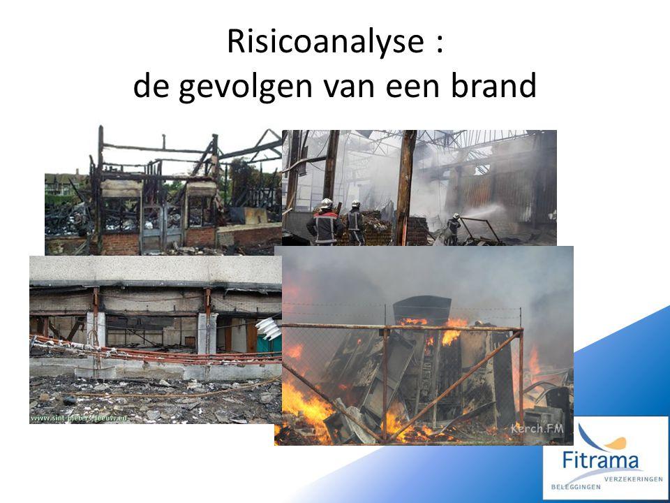 Risicoanalyse : de gevolgen van een brand