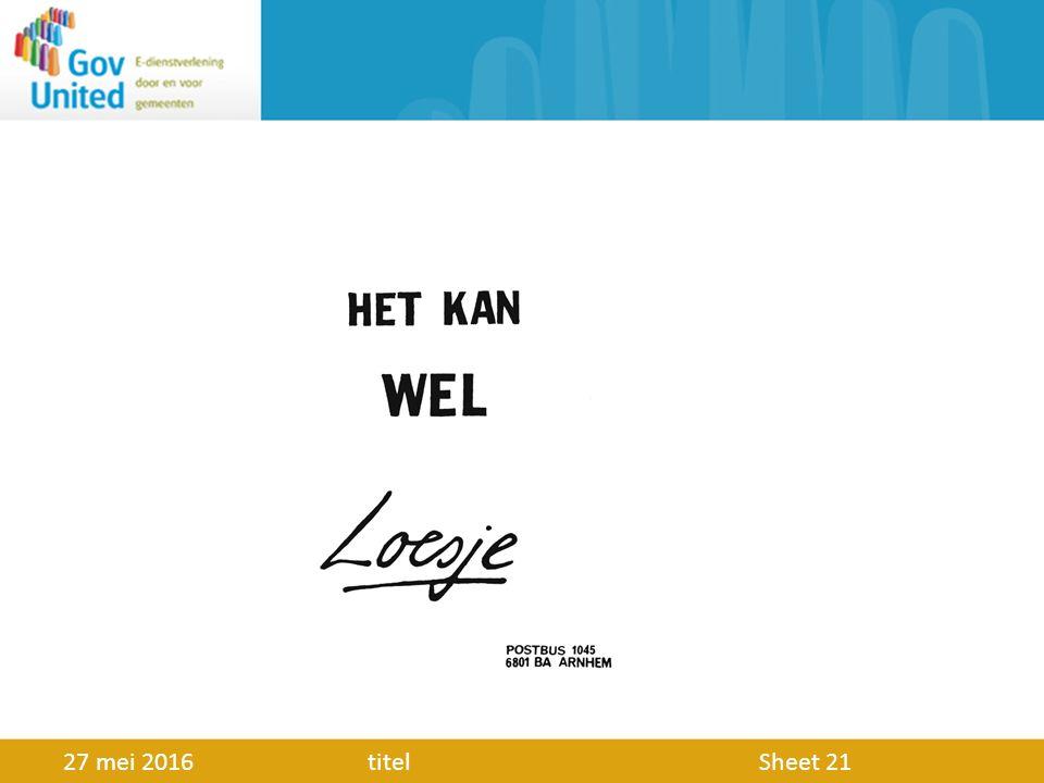 GovUnited Datum: 27 mei 2016 Meer info: www.govunited.nl info@govunited.nl