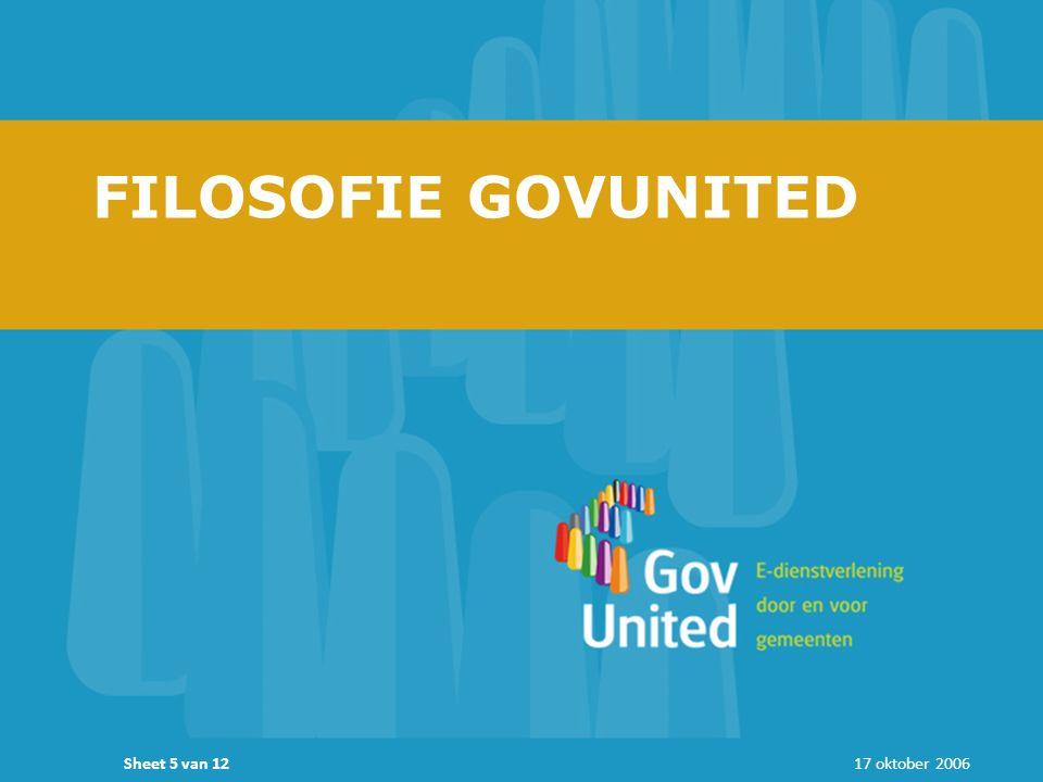 17 oktober 2006Sheet 5 van 12 FILOSOFIE GOVUNITED