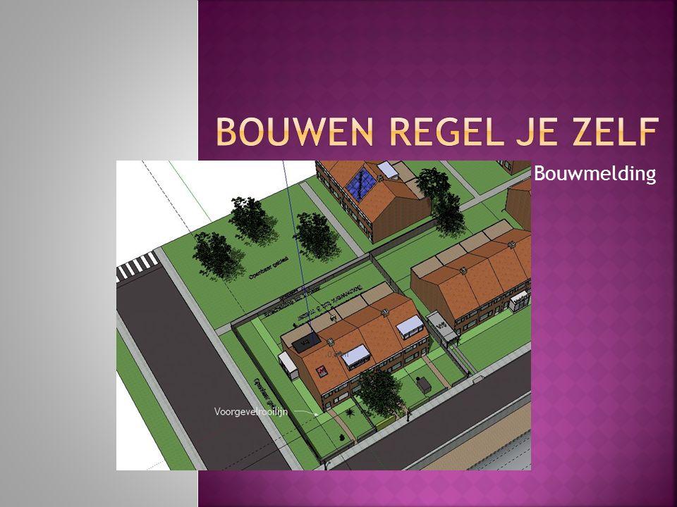 Benoem gebieden waarvoor de melding niet is toegestaan  Waardevolle, risico of nieuwe wijken.