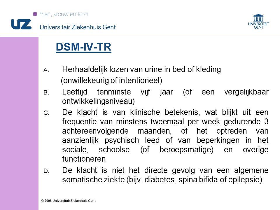 14 © 2008 Universitair Ziekenhuis Gent A.