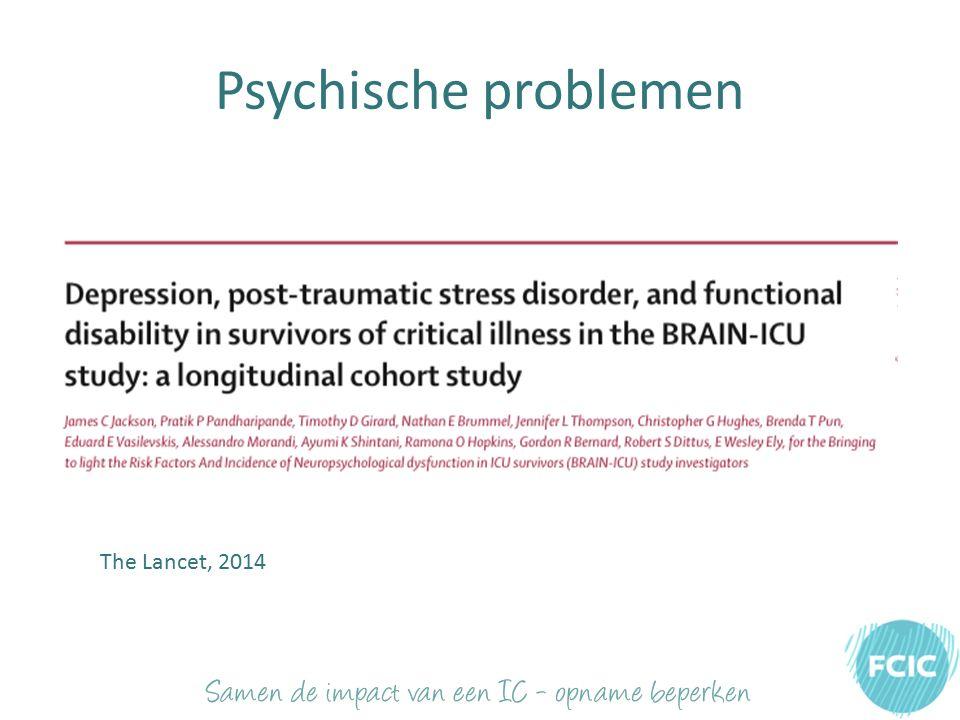 Psychische problemen The Lancet, 2014