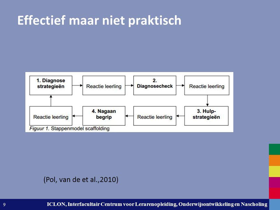 Leiden University. The university to discover. ICLON, Interfacultair Centrum voor Lerarenopleiding, Onderwijsontwikkeling en Nascholing 9 Effectief ma