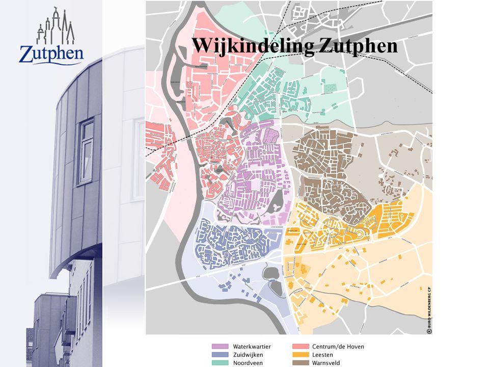 Wijkindeling Zutphen