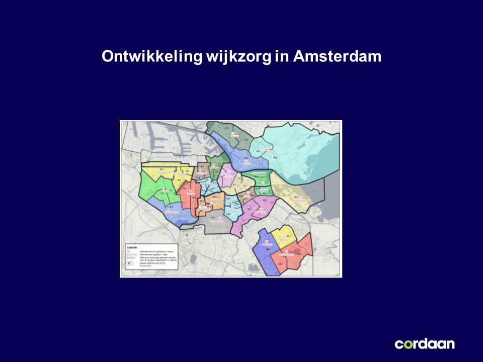 Ontwikkeling wijkzorg in Amsterdam