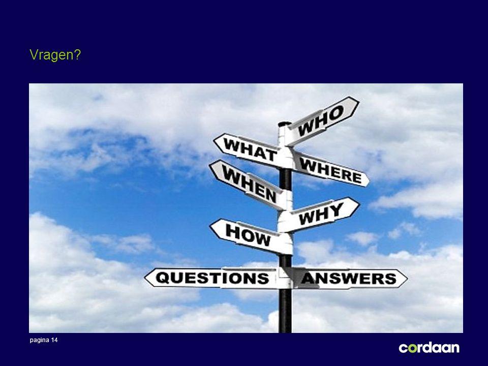 pagina 14 Vragen