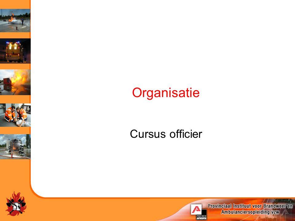 Organisatie Cursus officier