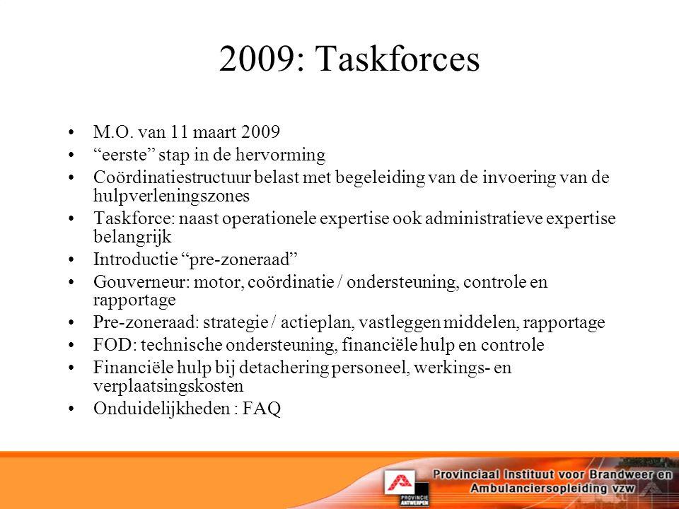 2009: Taskforces M.O.