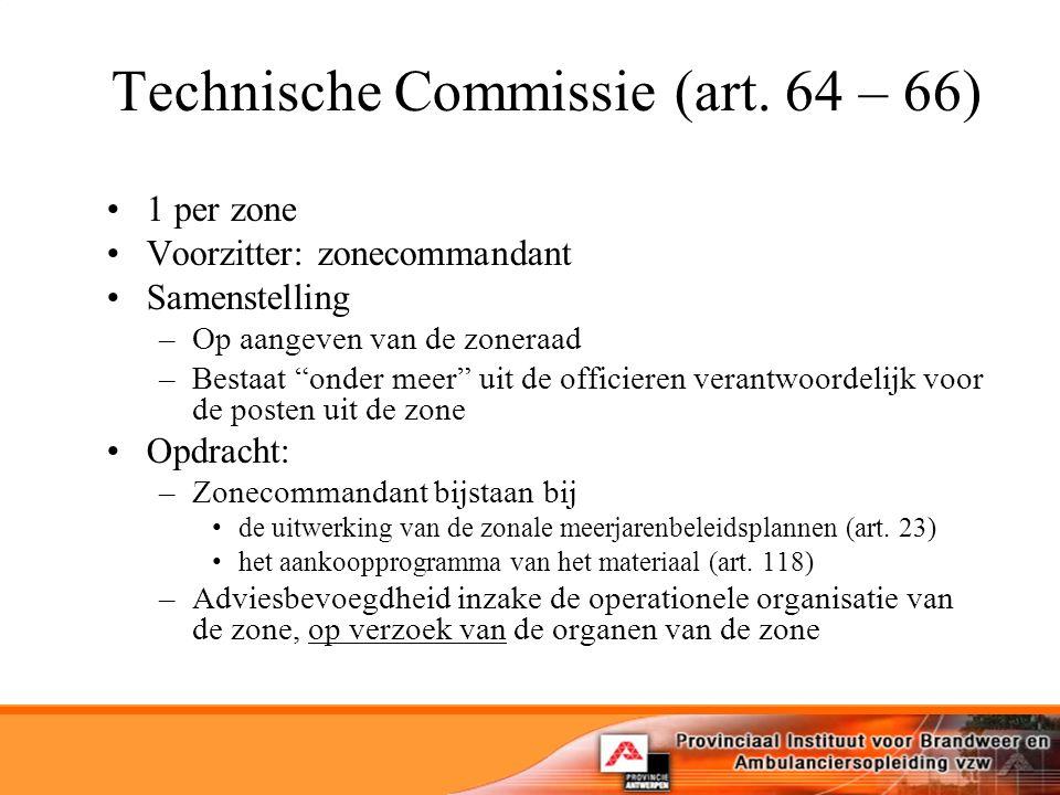 Technische Commissie (art.
