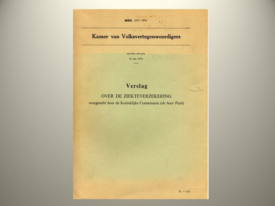 Getrapte zorg (echelonnering) Een vereiste is een trapsgewijze opstelling van de voorzieningen: een eerstelijnsgezondheidszorg met de huisarts als centrale figuur en, bij noodzaak, ook tweedelijnsgezondheidszorg Verslag over de Ziekteverzekering, 26 mei 1976