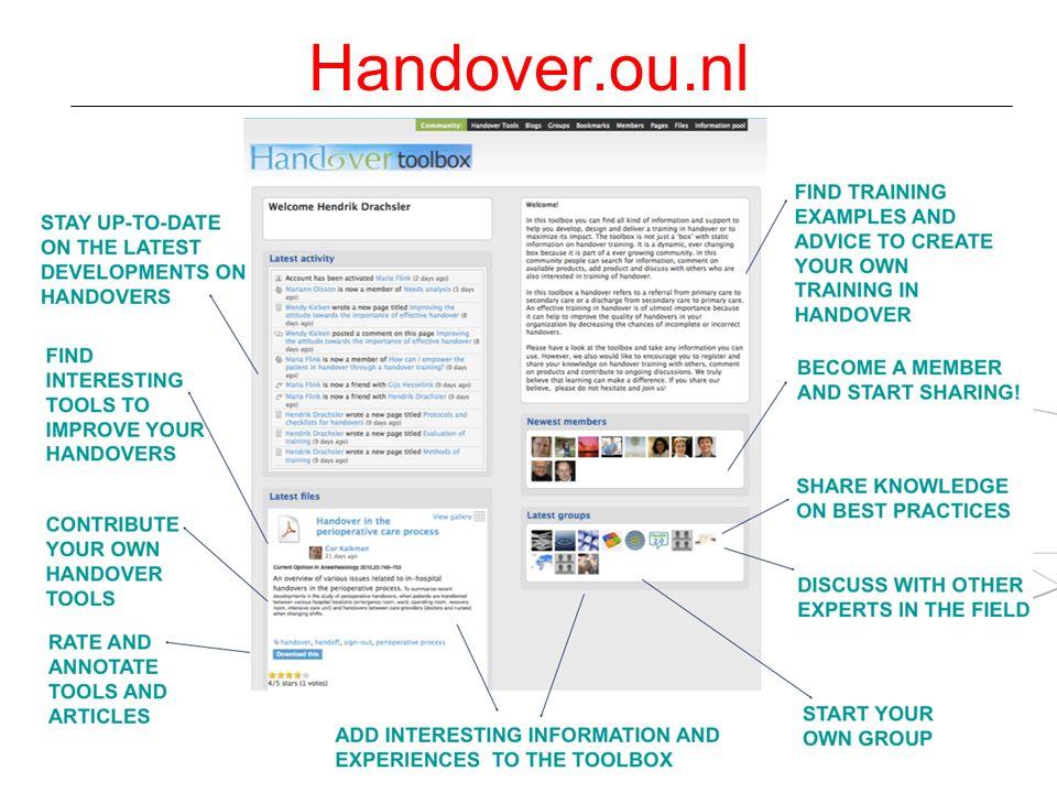 Handover.ou.nl