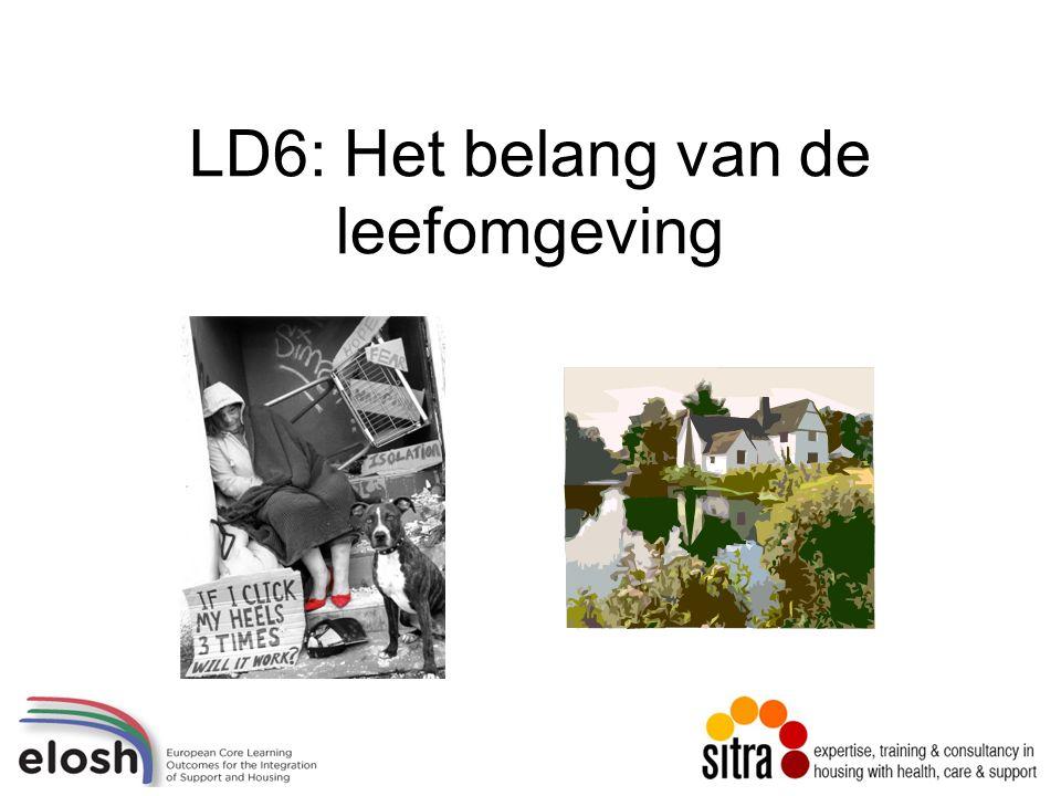 LD6: Het belang van de leefomgeving