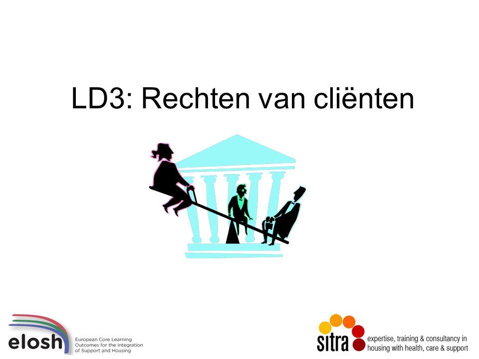 LD3: Rechten van cliënten