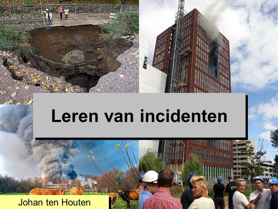 28/05/2016 Leren van incidenten Johan ten Houten