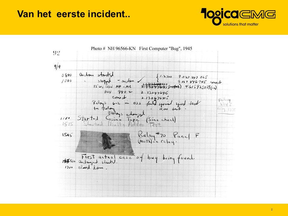 2 Van het eerste incident..
