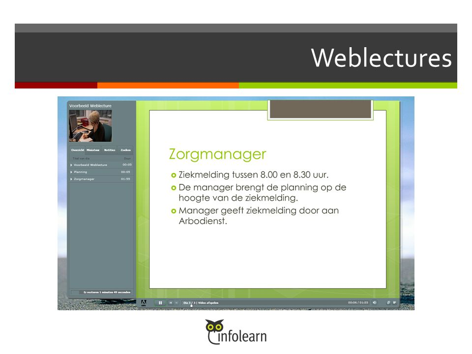 Weblectures