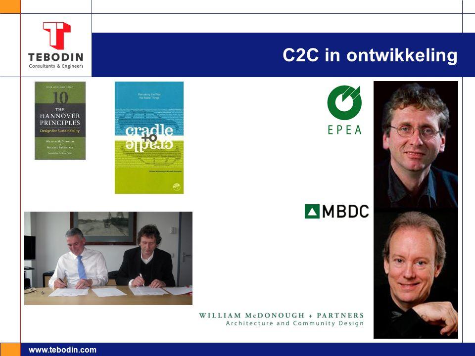 www.tebodin.com Conclusie  Vroegtijdig in ontwerp alternatieven zichtbaar maken  Noodzaak tot kwantificeren kosten en waarde LT  Werkprocessen en creativiteit zijn beschikbaar  Aan de slag!
