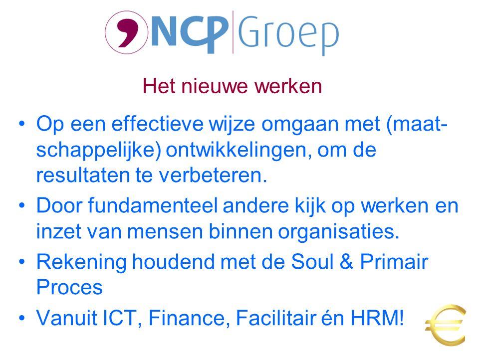 Omgeving FacilitairICT HRM Soul primair proces Invoeringsmodel Resultaten Financiën