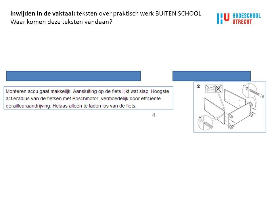 e) Stimuleer door middel van het werkblad en het lesplan dat leerlingen met elkaar gaan praten over het practicum en het verslag, en dat ze daarbij vaktaal gaan gebruiken.