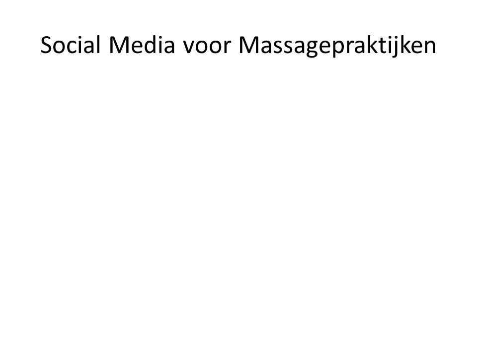 Social Media voor Massagepraktijken