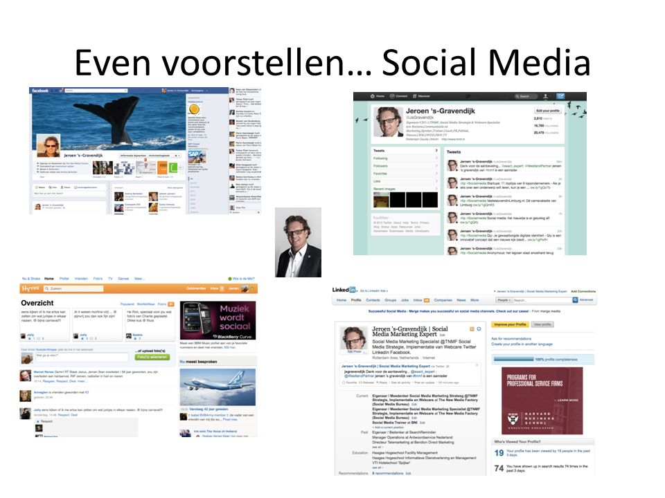 Even voorstellen… Social Media