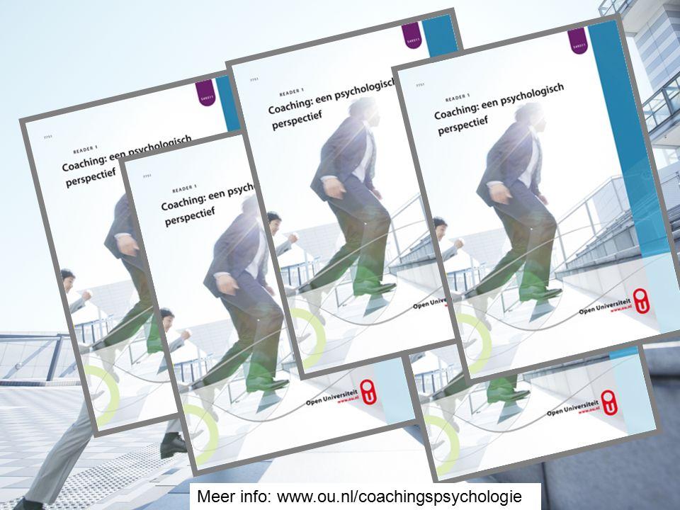 Meer info: www.ou.nl/coachingspsychologie
