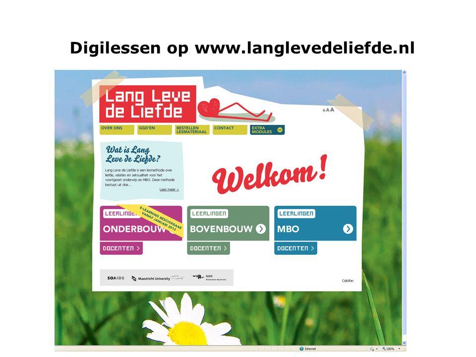 31 Digilessen op www.langlevedeliefde.nl