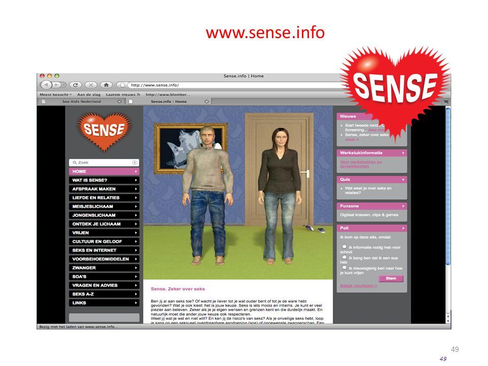 49 www.sense.info