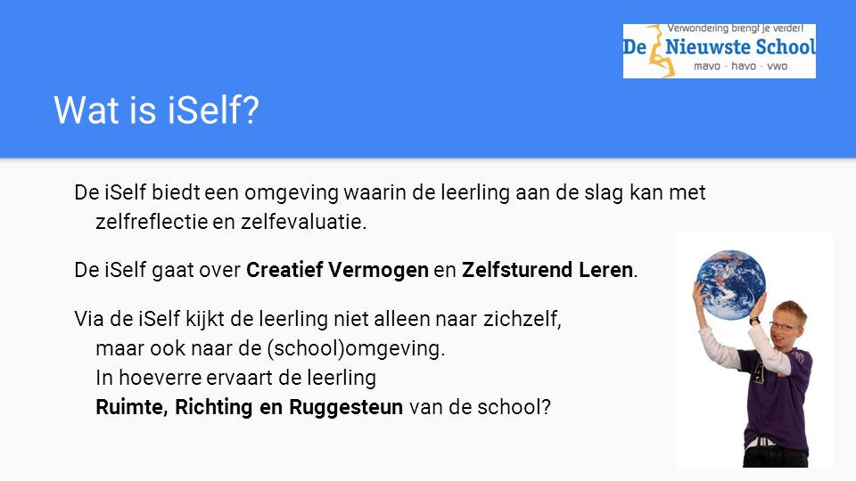 Wat is iSelf.