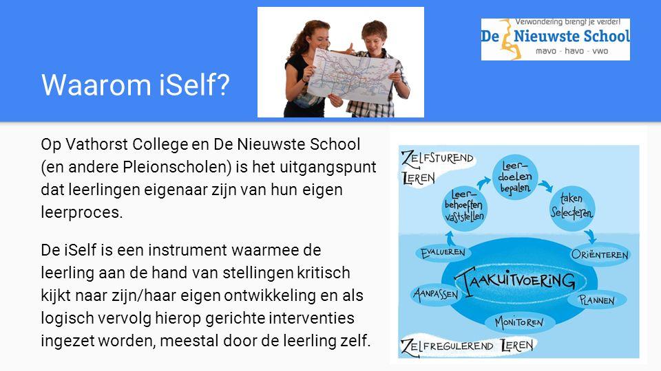 Zo ziet de iSelf eruit: Leerlingen van De Nieuwste School, leerjaar 3, leggen uit hoe de iSelf werkt