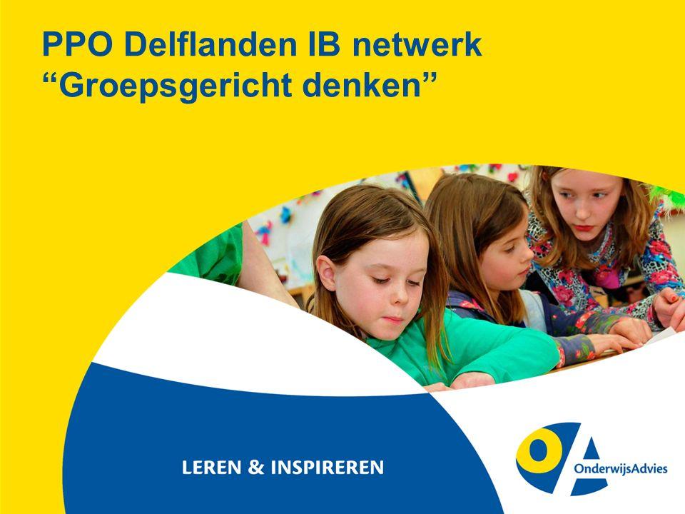 "PPO Delflanden IB netwerk ""Groepsgericht denken"""