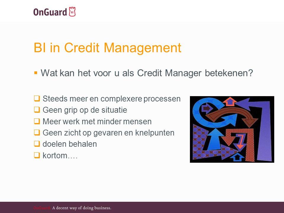 BI in Credit Management  Wat kan het voor u als Credit Manager betekenen.