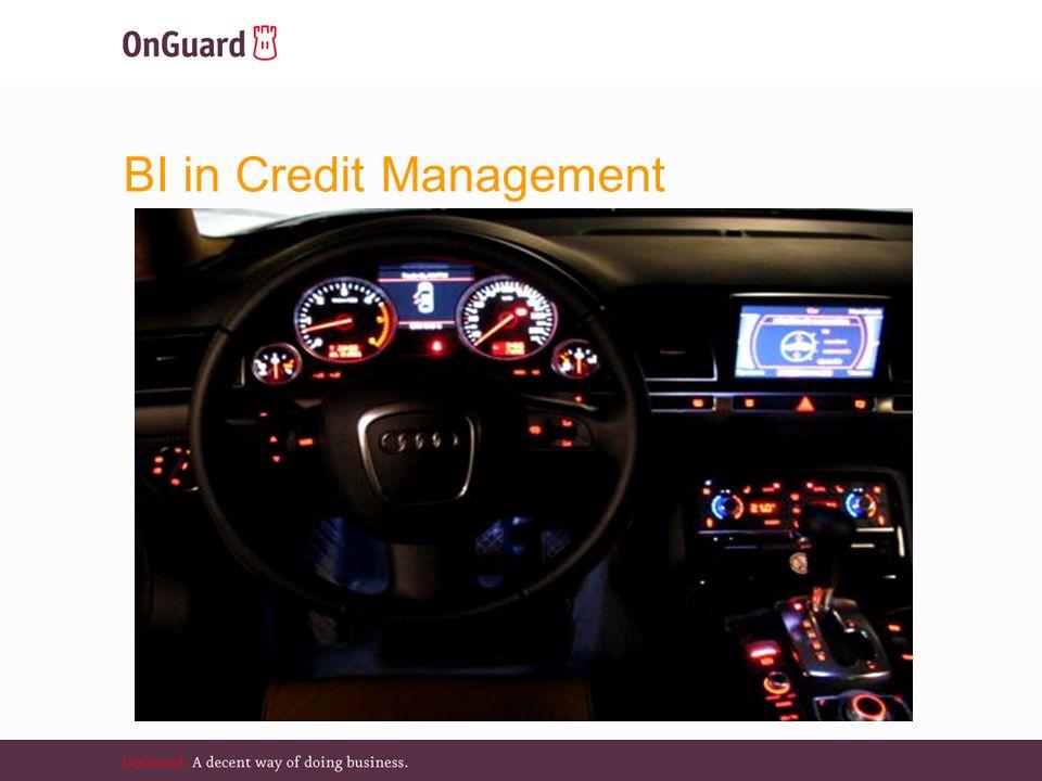Operationele doelen  Credit Manager: hoe is uw zicht?