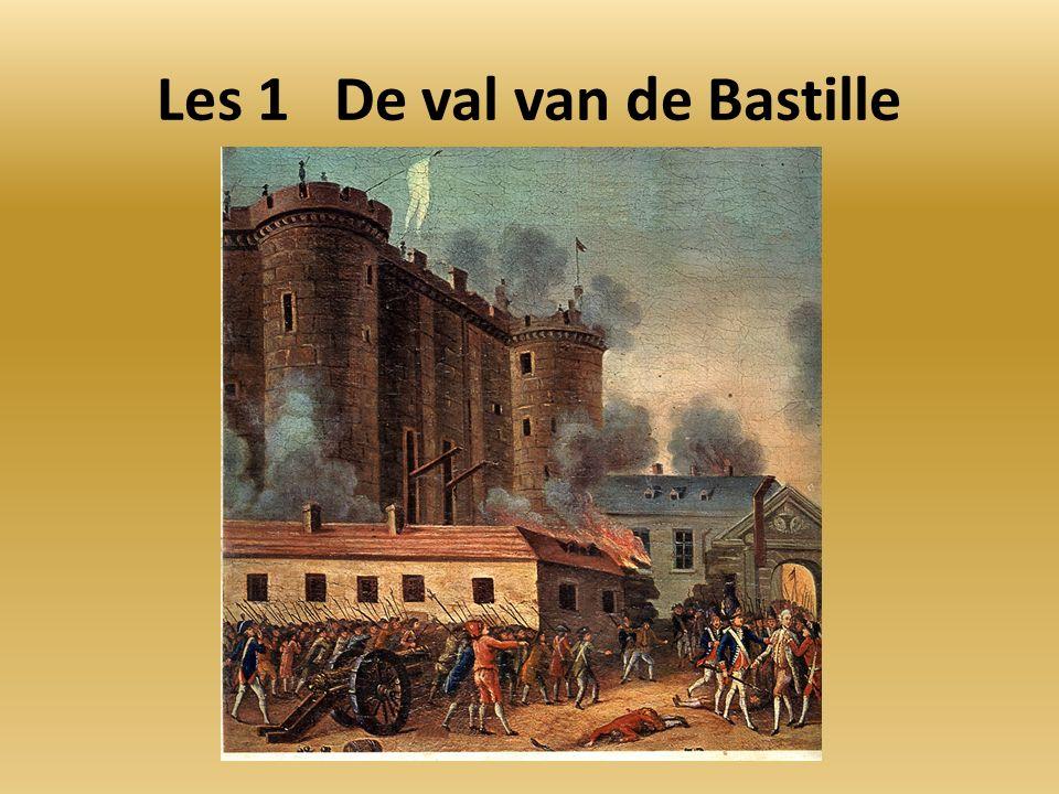 Les 1 De val van de Bastille