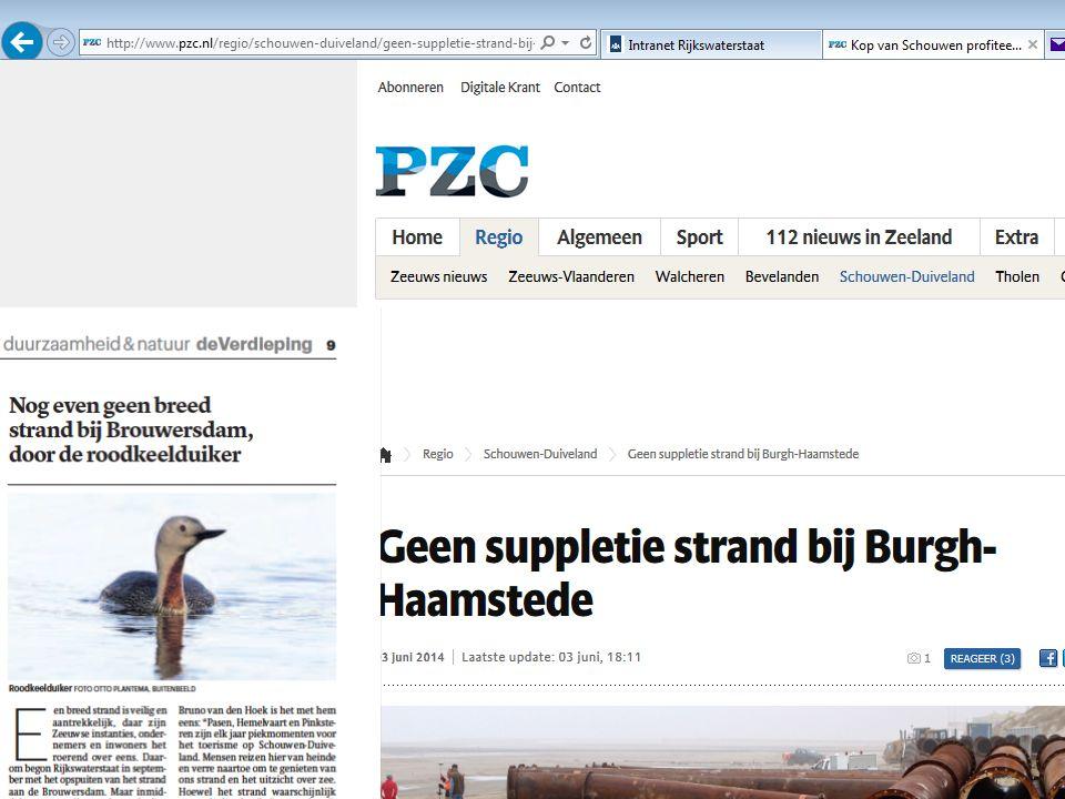 Rijkswaterstaat 35convenant Zandsuppleties en Natuur RWS ONGECLASSIFICEERD