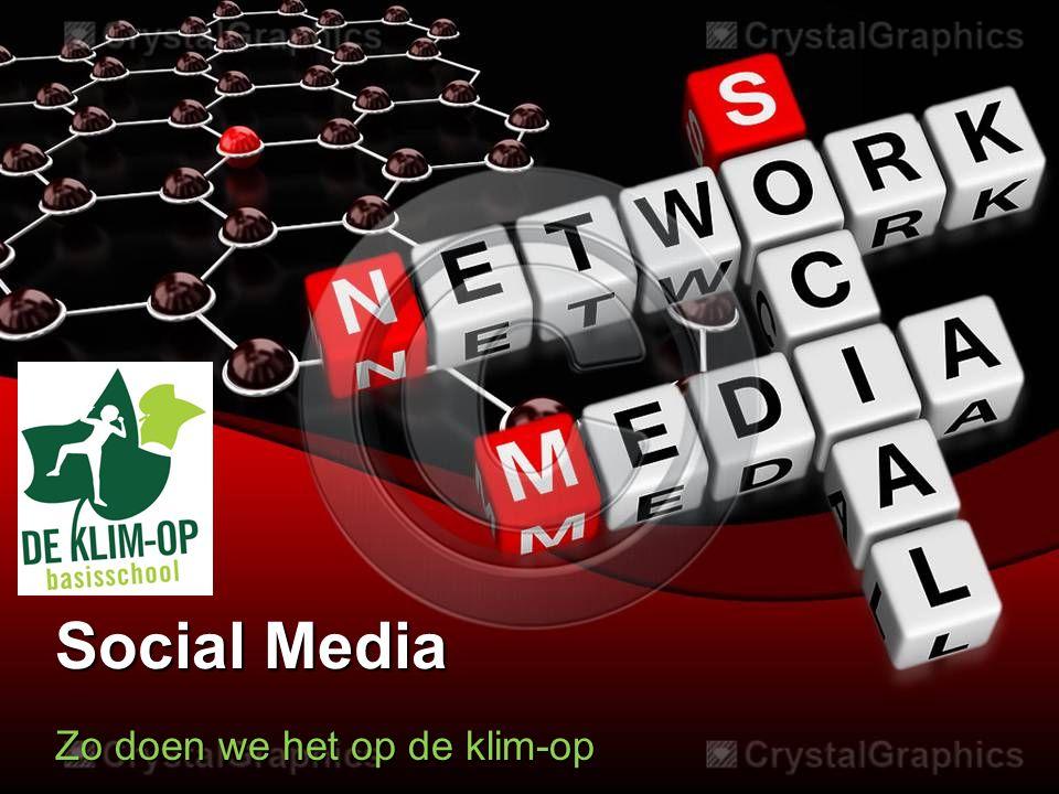Social Media Zo doen we het op de klim-op