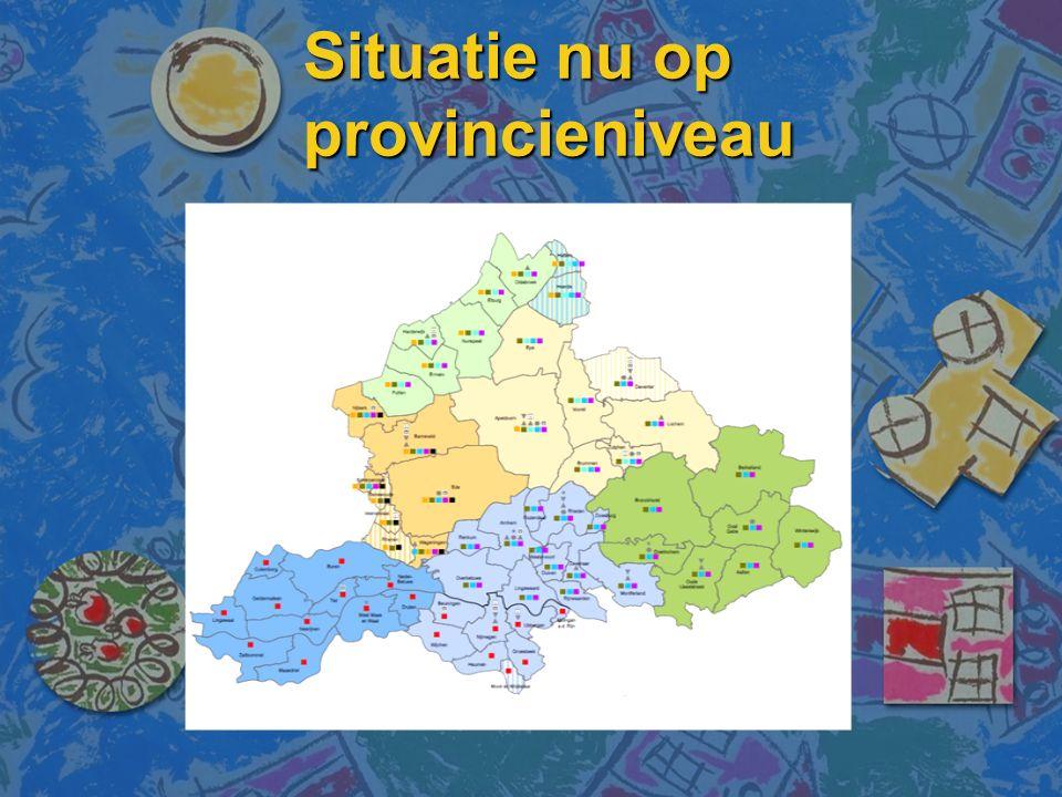 Situatie nu op provincieniveau