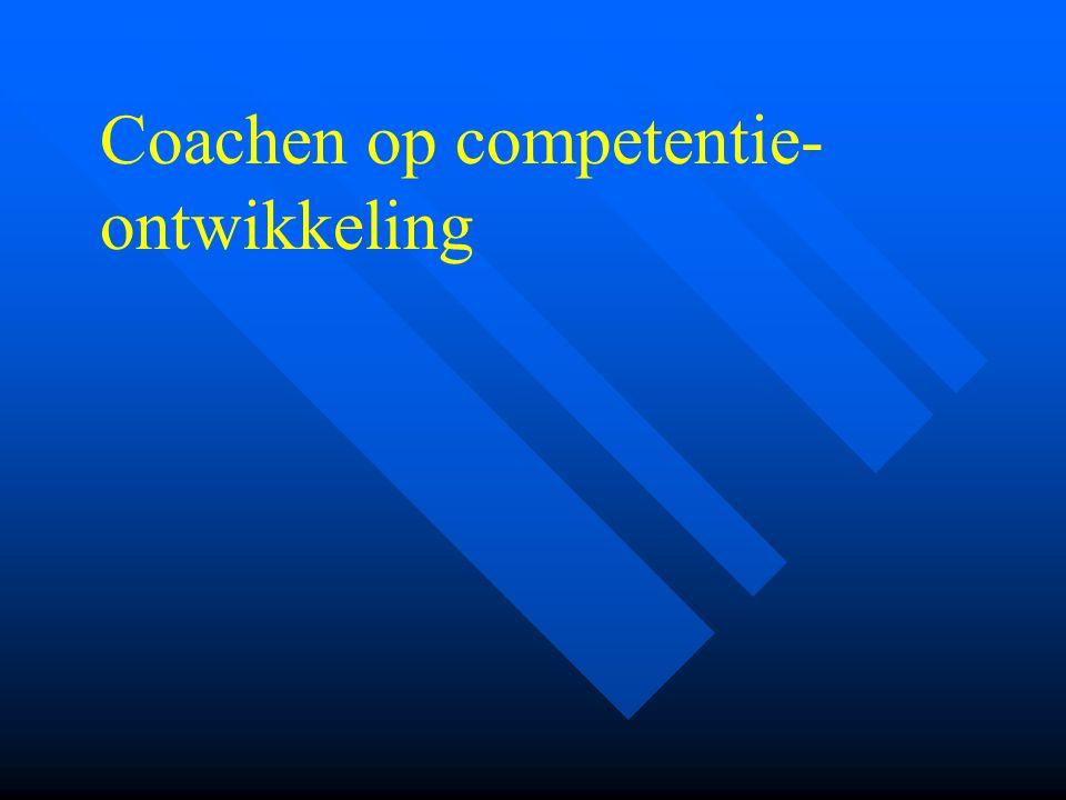 Coachen op competentie- ontwikkeling