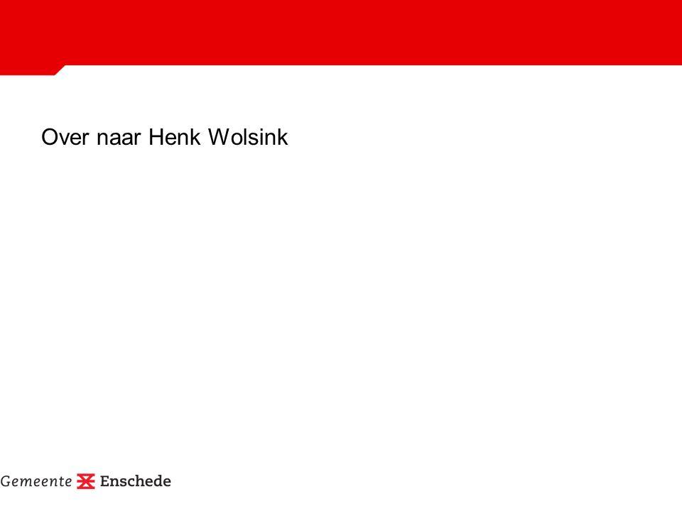 Over naar Henk Wolsink