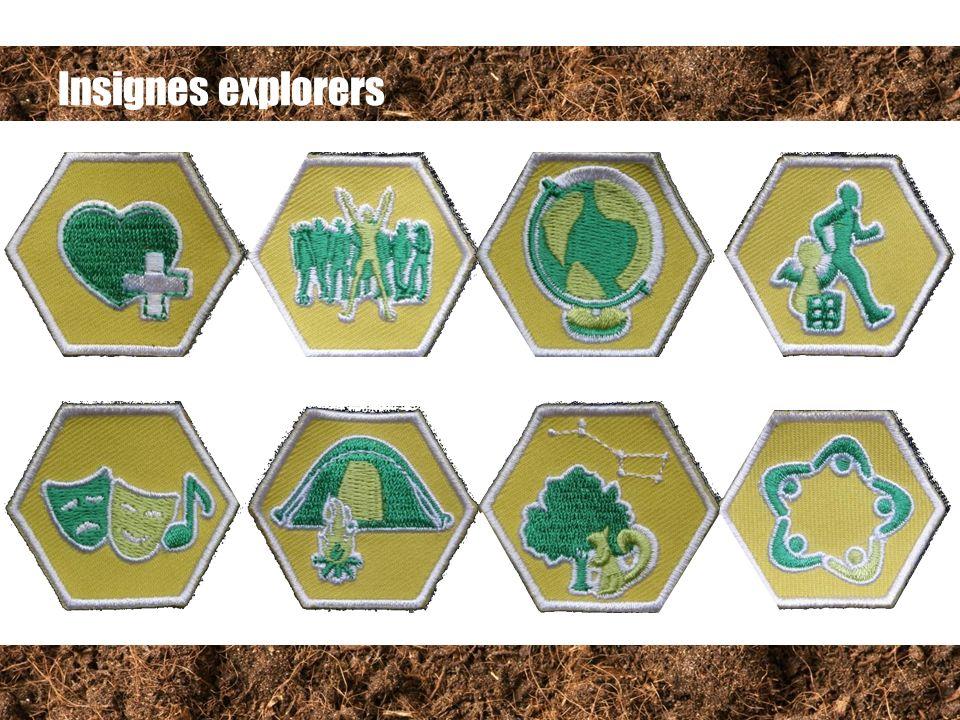 Insignes explorers